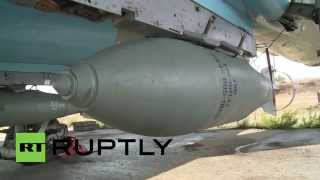 Syria: Russian fighter jets conduct anti-terror sorties from Hmeymim Air Base