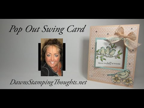 Pop Out Swing Card