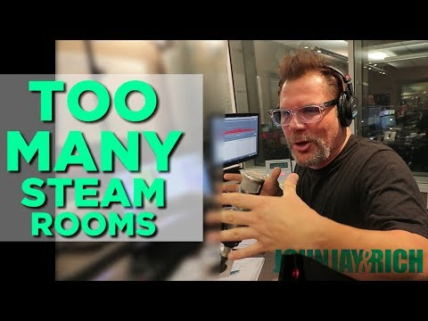 In-Studio Videos - Johnjay Took Too Many Steam Baths!