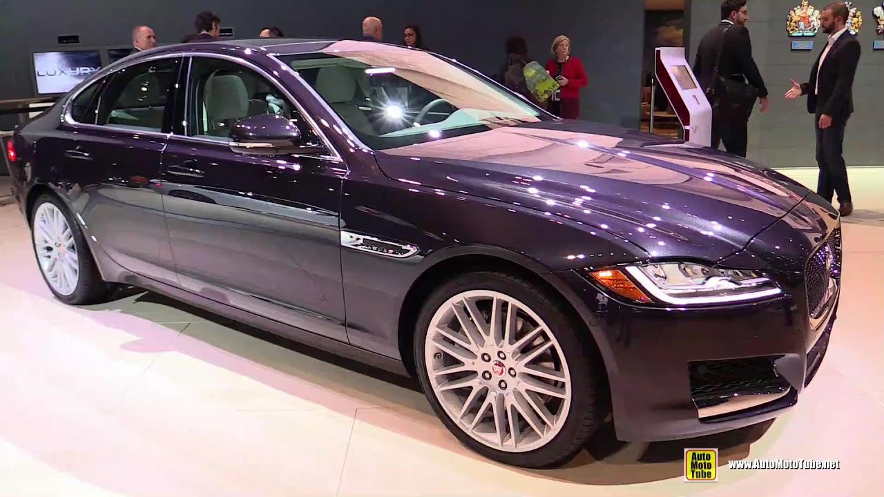 New car colors 2016 - 2016 Jaguar Xf 3 5t Exterior And Interior Walkaround Debut At 2015 New York Auto Show Youtube
