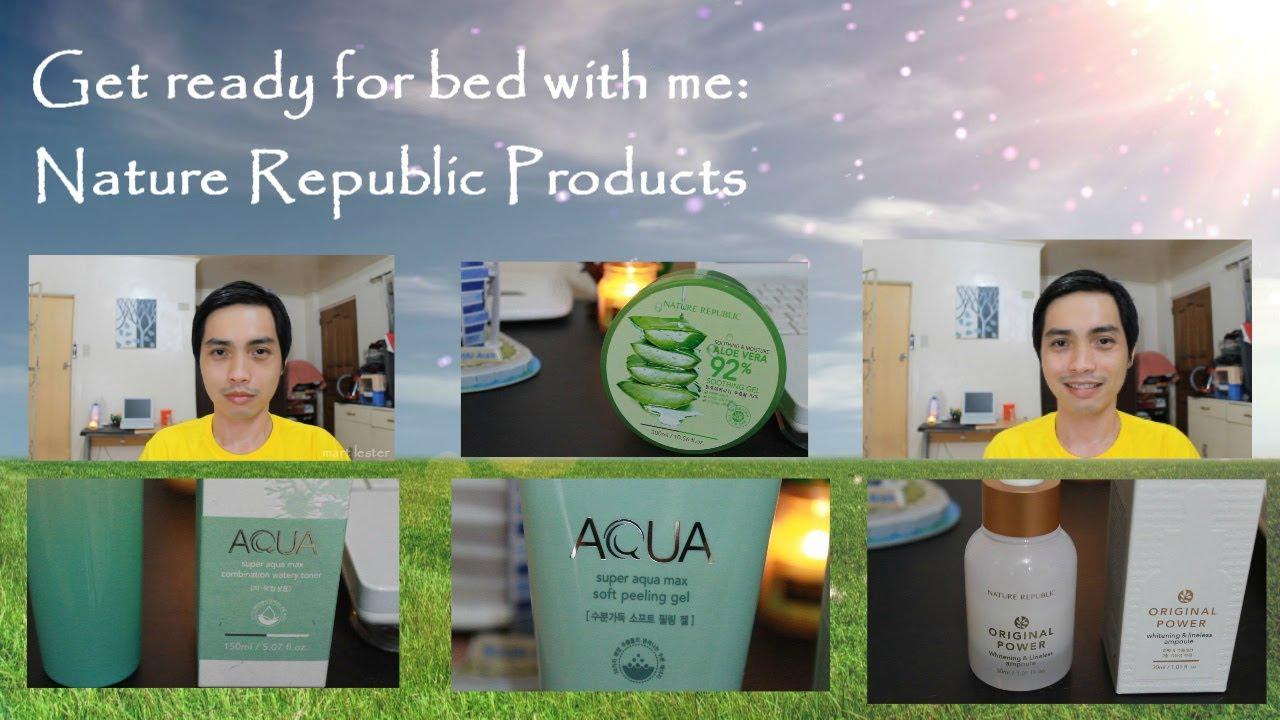 Nature Republic Skin Care Products
