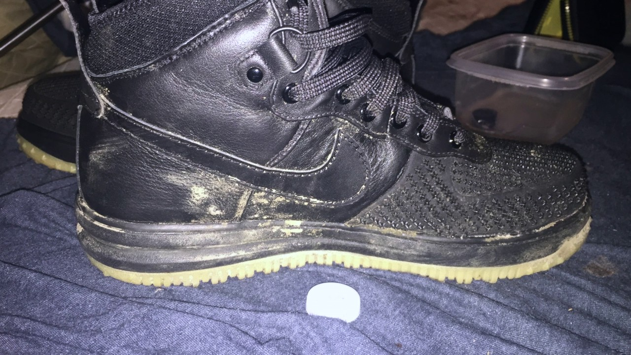 outlet store b5486 ba8de Nike Lunar Air force one Duck boot Deep clean  GIVEAWAY CLOSED