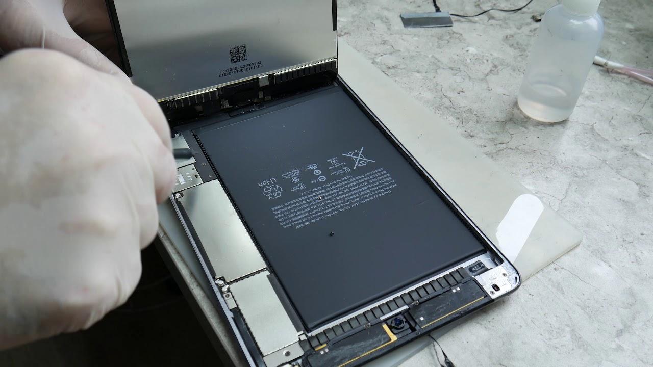 ipad mini замена сенсора