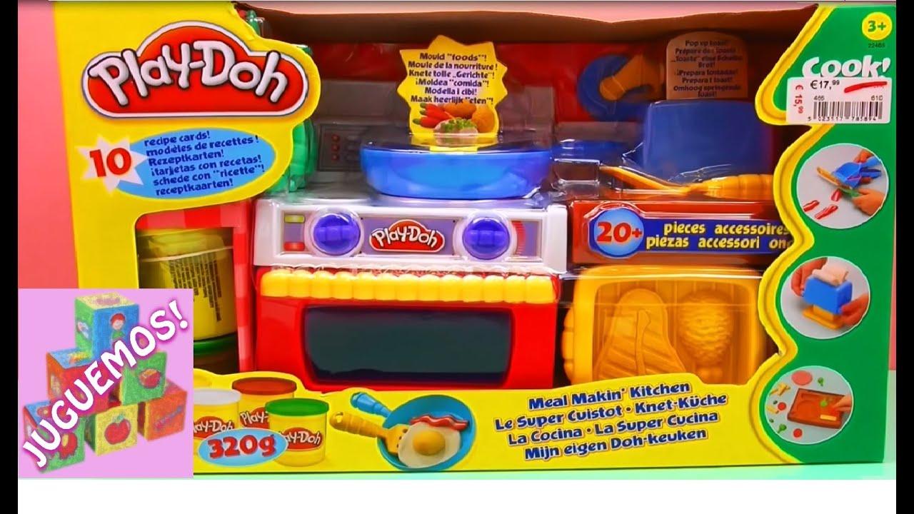 la s per cocina play doh play dough kitchen en espa ol