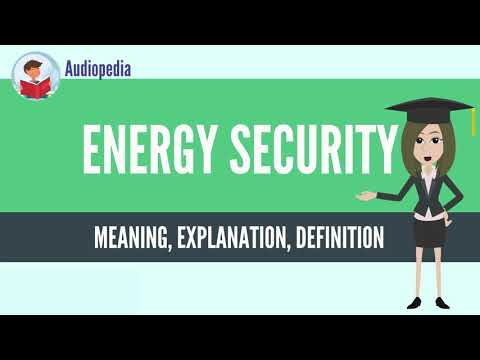 What Is ENERGY SECURITY? ENERGY SECURITY Definition & Meaning