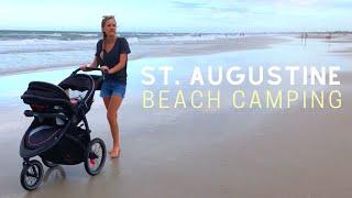 Camping at St. Auguṡtine Beach | Ocean Grove RV Resort
