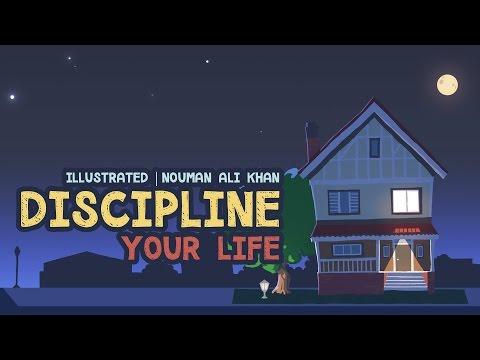 Discipline Your Life  illustrated  Nouman Ali Khan  Subtitled