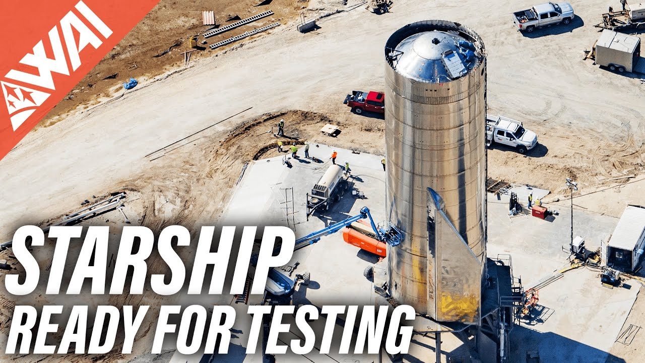 SpaceX Starship – Testing About To Begin - Super Heavy The Giant