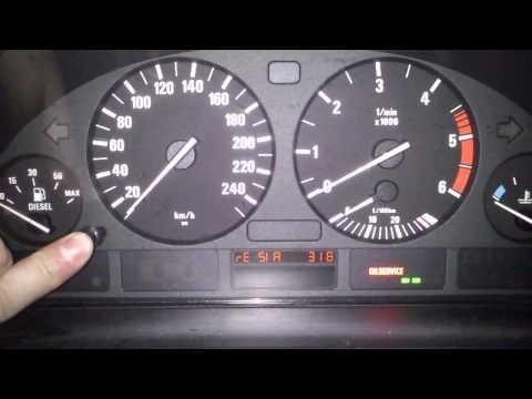 Kasowanie Inspekcji BMW 5 E39 Oil Service Indicator Light Reset BMW 5 E39