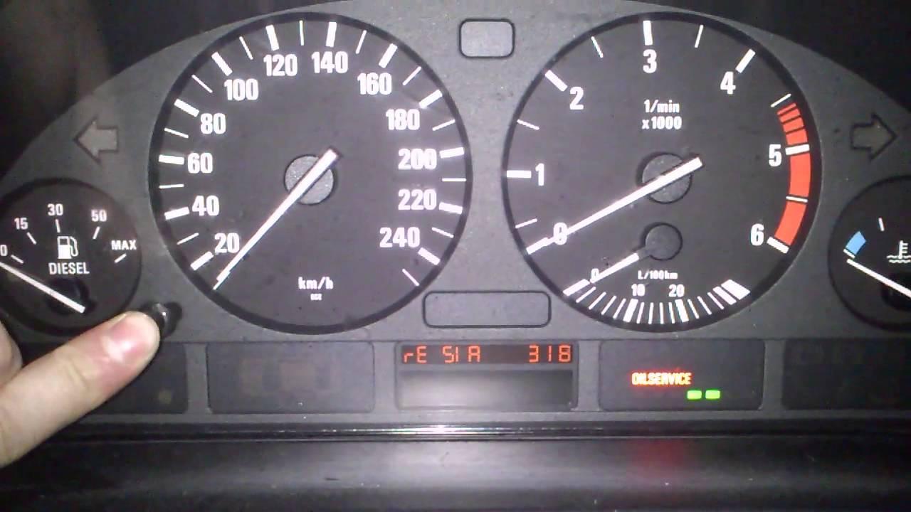 Kasowanie Inspekcji BMW 5 E39 Oil Service Indicator Light ...