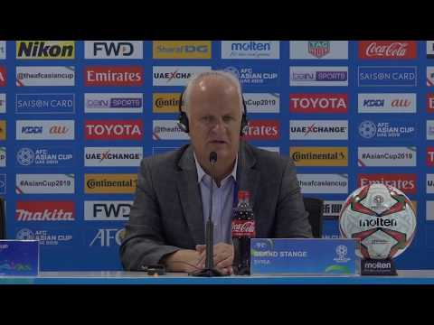 """""""You must give respect when it is due,"""" Syria's coach Bernd Stange"""