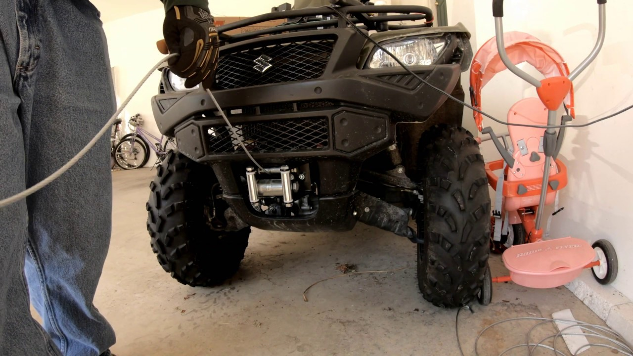 Replacing a Winch Cable #1