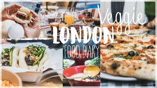 Food Diary vegetarisch - London kulinarisch entdecken - Transformation des Monats