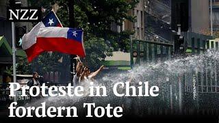 Demos und Gewalt in Chile halten an