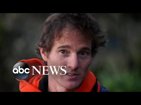 Professional ice climber Will Gadd helps scientists learn more about climate change
