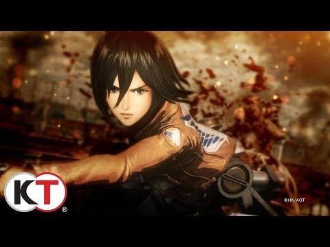 Attack on Titan 2 Launch Trailer