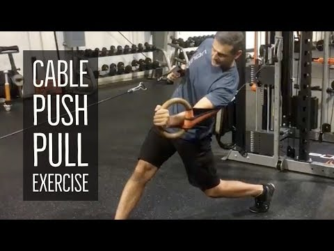 Push Pull Exercise Using the Cable Crossover | FightCampConditioning