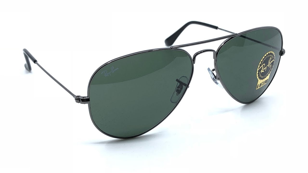 f6855559e2 Ray-Ban RB3025 Aviator Classic Sunglasses Gunmetal