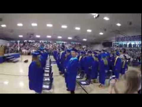 Bond County Community Unit #2 High School Graduation 2016