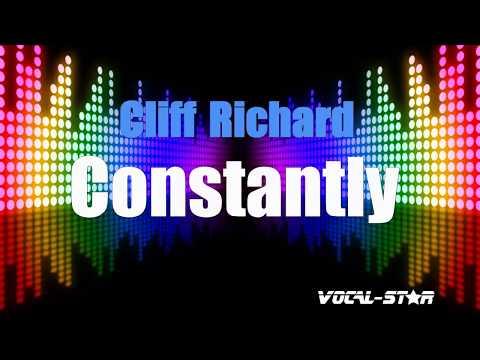 Cliff Richard - Constantly (Karaoke Version) with Lyrics HD Vocal-Star Karaoke