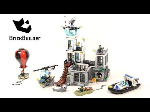 Lego City 60130 Prison Island - Lego Speed Build