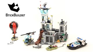 Lego City 60130 Prison Island - Lego Speed Build
