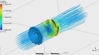 Tutorial ANSYS CFX Part - 1/2 | Analysis of propeller, calculation thrust and power