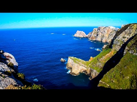 360° view of Cabo Peñas in Asturias, Spain