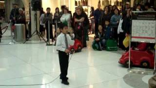 Jingle bell rock by Ralph in Oakridge Mall