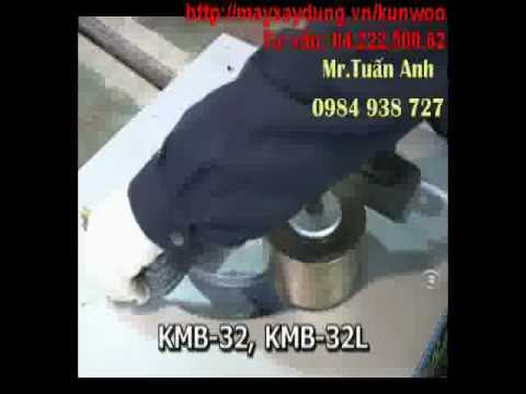 máy cắt sắt, máy uốn sắt KUNWOO - Hàn Quốc