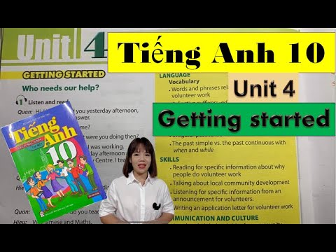 Tiếng Anh lớp 10 Unit 4 Getting started – For a better community / HeartQueen Quyên Hoàng