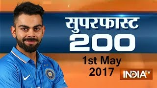 Watch 200 news stories at breakneck speed on India TV in its Superf...