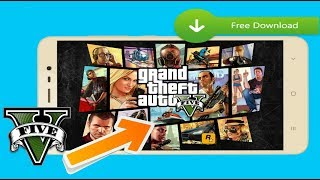 HOW TO DOWNLOAD GTA V ON ANDROID LITE (40 MB) + GAMEPLAY 2017