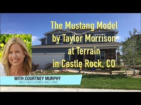 New Homes & Real Estate in Castle Rock Colorado - The Mustang Model by Taylor Morrison at Terrain