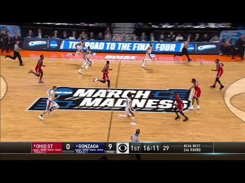 Ohio State vs. Gonzaga: First Half Highlights