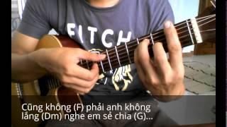 Hướng dẫn Nói làm sao hết Guitar ( Intro tab)