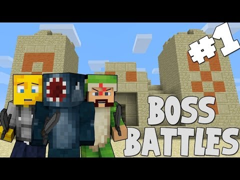 Minecraft - Boss Battles - The Three Wise Men [1]