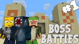 Minecraft - Boss Battles - The Three Wise Men [1]