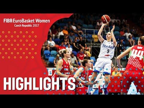 Italy v Hungary - Highlights - QF-Qual - FIBA EuroBasket Women 2017