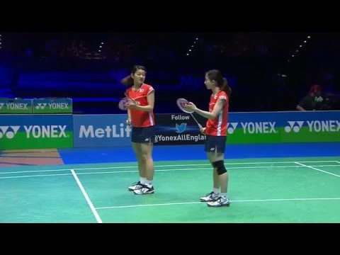 Yonex All England Open 2016 | Badminton F M2-Mat/Tak vs Tang/Yu