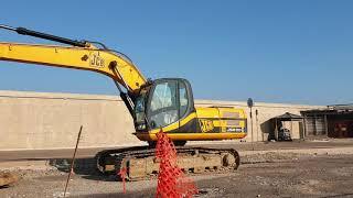 Lavori in corso al porto di Termoli