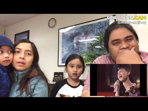 Family Reacts to ANNETH sings I'LL NEVER LOVE AGAIN TOP 5   Indonesian Idol Junior 2018
