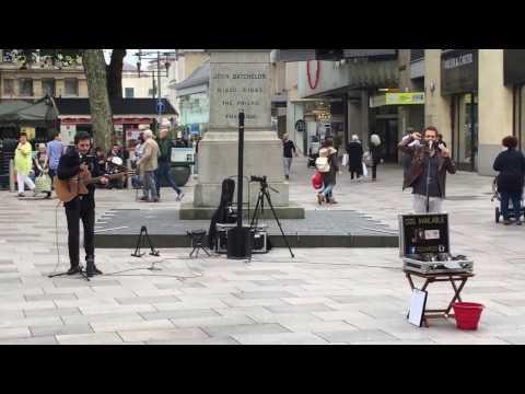 Street Music Cardiff September 2016 - Let Her Go