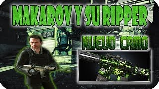 LIVE - Makarov, Su Camo Y Su Ripper - CoD Ghosts Gameplay HD