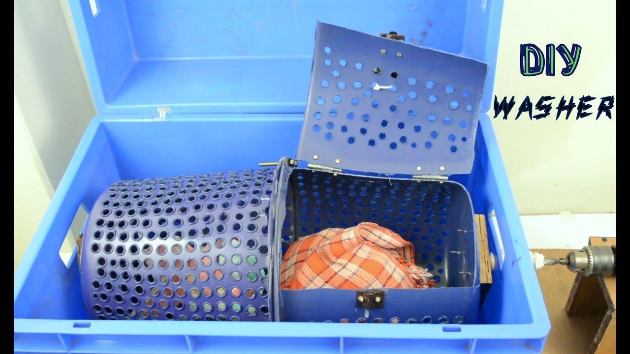 How To Make Washing Machine At Home Diy Washer