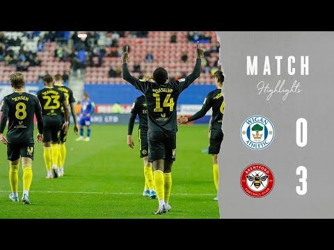 Match Highlights: Wigan Athletic 0 Brentford 3