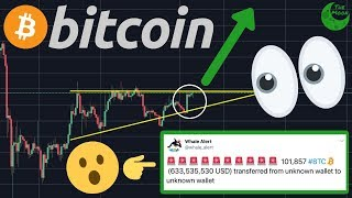 MASSIVE $633,535,330 BITCOIN TRANSACTION! Guess The FEE? | BTC Outperforms STOCKS!