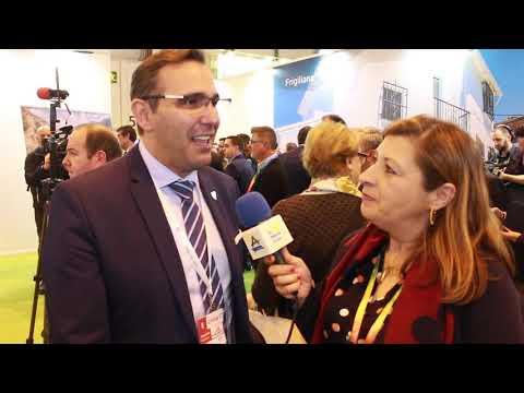 Entrevista a Antonio José Martín, concejal de Turismo de Rincón de la Victoria en Fitur 2019