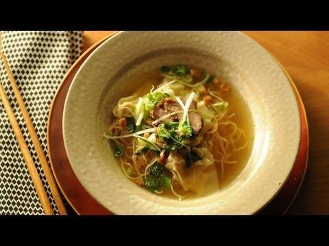 How to Make Wonton Soup - Wonton Soup Ep. 1