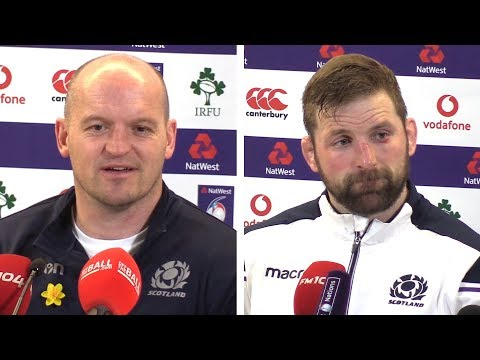 Ireland v Scotland - Gregor Townsend & John Barclay Post Match Press Conference - Six Nations